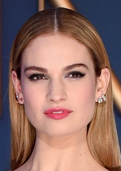 Lily James as Cinderella in Disney Princesses