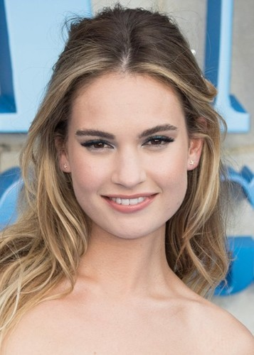 Lily James as Wonder Woman in Wonder Woman 1982