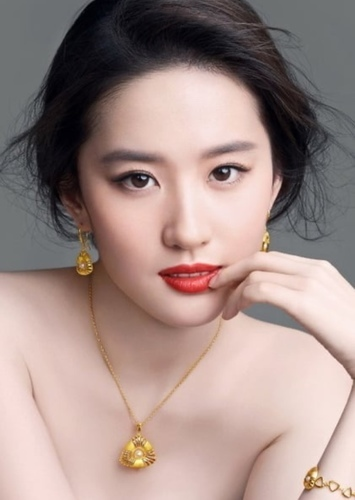 Liu Yifei as Nung En's wife in The Good Earth