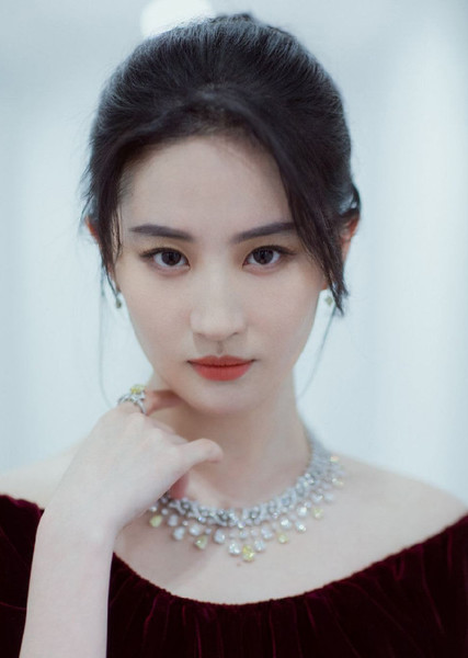 Liu Yifei as Mulan in Disney Princesses