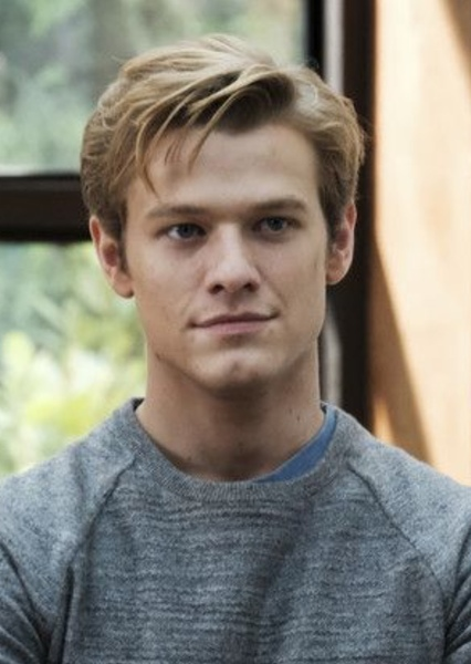 Lucas Till as Cloud Strife in Final Fantasy VII