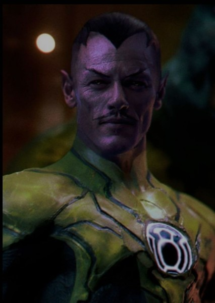 Luke Evans as Sinestro in Justice League 2: Enter Braniac
