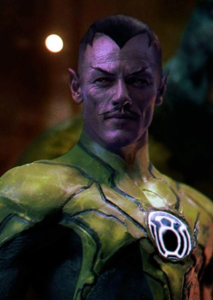 Luke Evans as Thaal Sinestro in Legion Of Doom