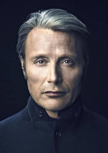 Mads Mikkelsen as Cobra commander in Gi joe
