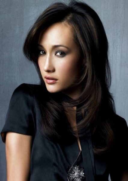 Maggie Q as Avatar Kyoshi in Avatar the last airbender