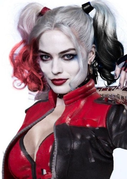 Margot Robbie as Harley Quinn in Justice League vs Suicide Squad