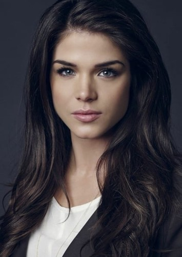 Marie Avgeropoulos as Angelina Jolie in Celebrity Biopics