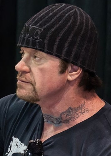 Mark Calaway as Undertaker in Mike Tyson Mysteries:The Animated Movie