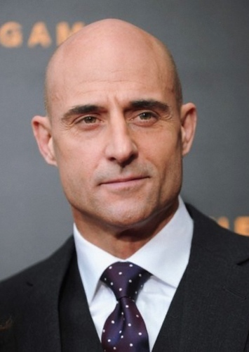 Mark Strong as Gerard Tarmac in The Supers