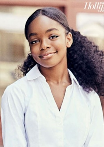 Marsai Martin as Fast Forward in We Can Be Heroes Alternative Cast