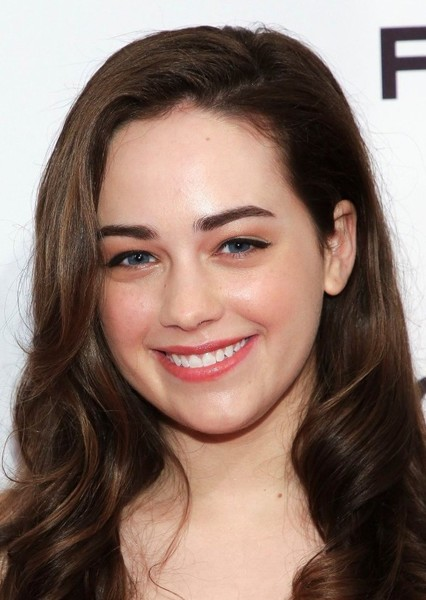 Mary Mouser as Pepper in Descendants (Cartoon Network Characters)