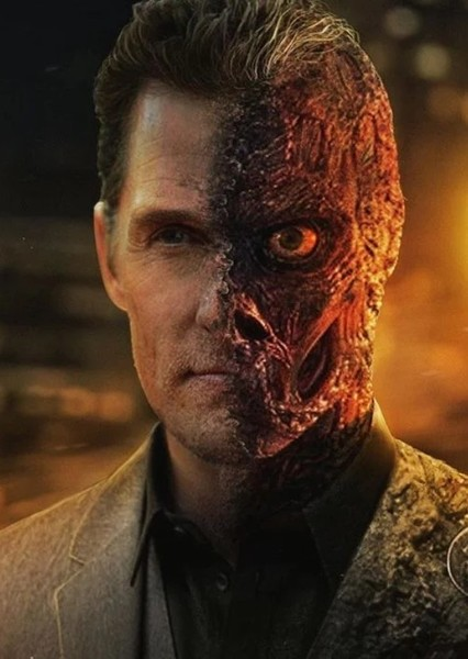 Matthew McConaughey as Two Face in DCEU The Long Halloween (2012)