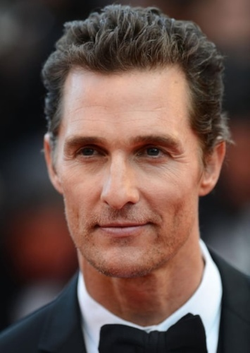 Matthew McConaughey as Hunter Zoloman in Speedsters