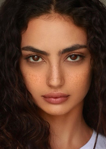 Medalion Rahimi as Athena in The Rise of The Gods Season One