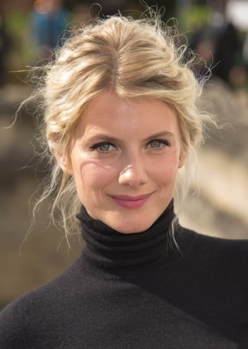 Mélanie Laurent as Mademoiselle L'Espanaye in The Adventures of Dupin