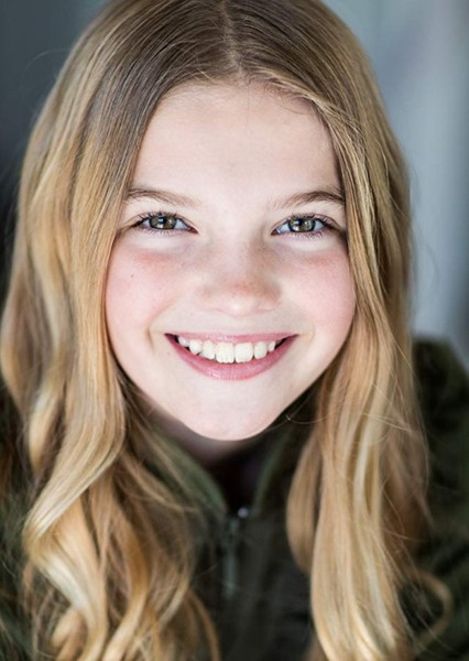 Mia Talerico as Annabeth Chase in Percy Jackson & the Olympians