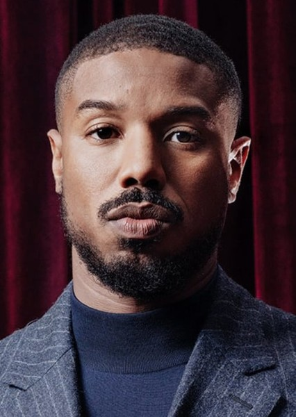 Michael B. Jordan as Falcon in Alternate Marvel Cinematic Universe