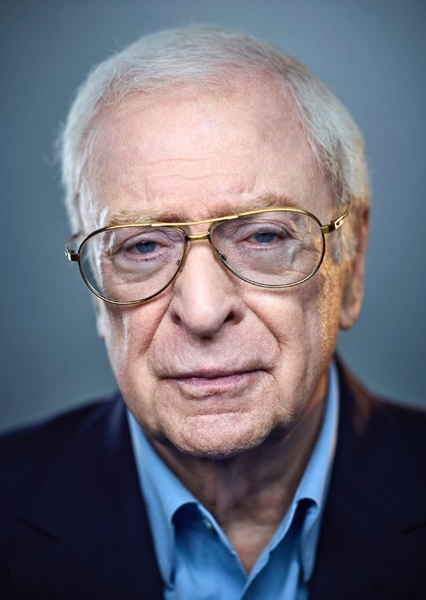 Michael Caine as Major Zero in Metal Gear