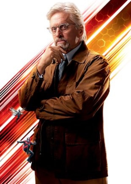 Michael Douglas as Hank Pym in Avengers Vs The Masters Of Evil