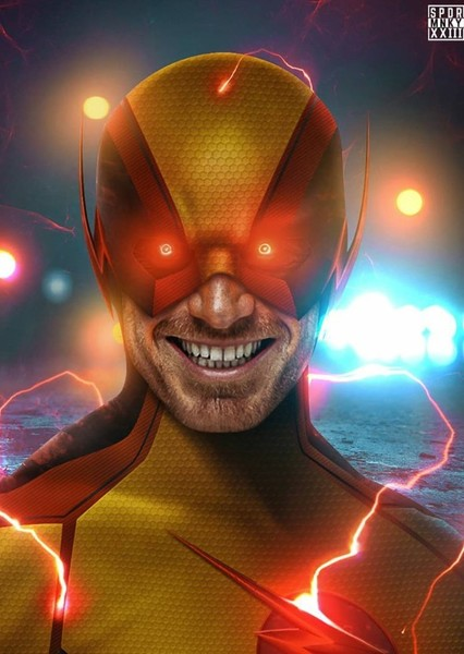 Michael Fassbender as Reverse Flash in The Flash: The birth
