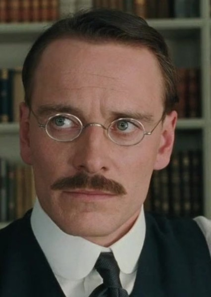 Michael Fassbender as Theodore Roosevelt in American Crime Story: The Assassination of William McKinley