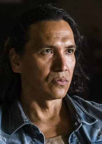 Michael Greyeyes as Chief Powhatan in Pocahontas