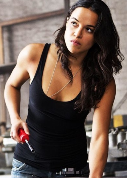 Michelle Rodriguez as Letty Ortiz in War of the Furious