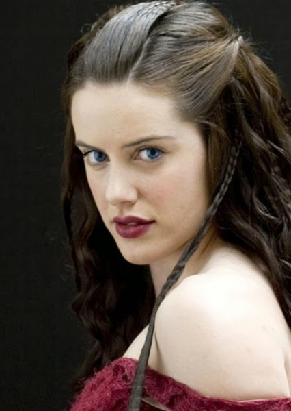 Michelle Ryan as Nimueh in The Adventures of Uther & Gaius