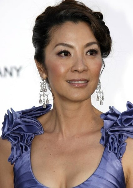 Michelle Yeoh as SHADO in Green Arrow: The Emerald Archer