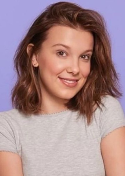 Millie Bobby Brown as The Leader in No Context/Typical Movie/TV Show About a Group of Girls