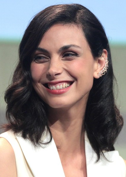 Morena Baccarin as Queen Amberly in The Selection Series