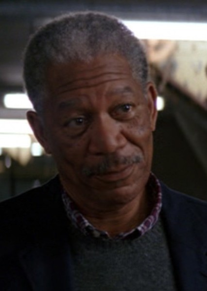 Morgan Freeman as The Presence in The ATOM