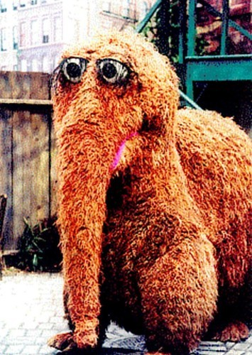 Mr. Snuffleupagus as Tantor in Tarzan, Lord of the Muppets