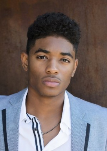 Nadji Jeter as The Ultimate Spider-Man in Spider-Man: spider-verse