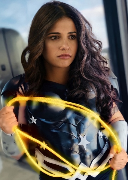 Naomi Scott as Donna Troy in Teen Titans: