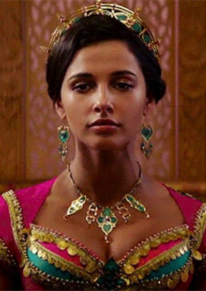 Naomi Scott as Jasmine in Live Action Disney Princess and Princes