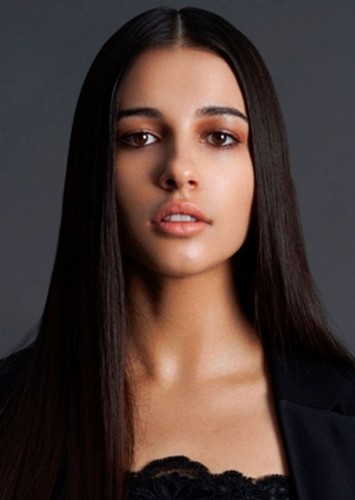 Naomi Scott as Nyssa Raatko in Gotham City Sirens