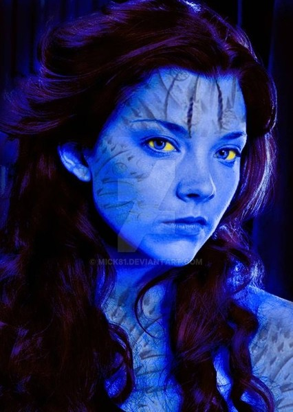 Natalie Dormer as Raven Darkhölme (Mystique) in All Superheroes and Villains (DC, Marvel, & Dark Horse Comics)