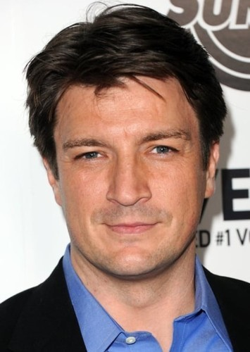 Nathan Fillion as Older Michael Jon Carter in Booster Gold