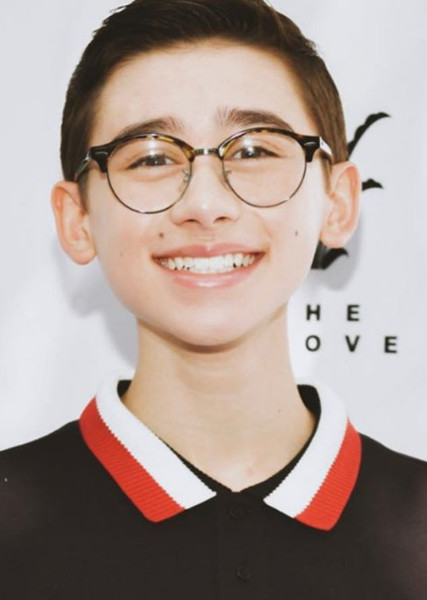 Nathan Janak as Most Likely to Play a Nerd/Geek in Actors/Actresses That Are Most Likely to Play Which Middle School Student