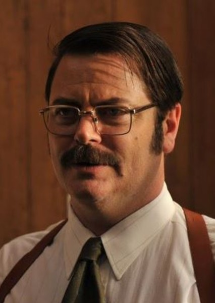 Nick Offerman as Theodore Roosevelt in Cast the Presidents of the United States