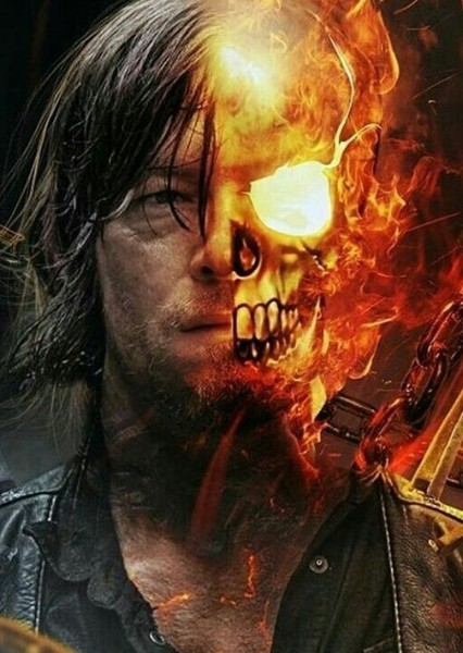 Norman Reedus as Ghost Rider in Missing Marvel Characters