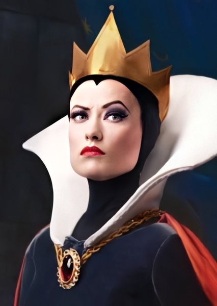 Olivia Wilde as Evil Queen in Red Rose