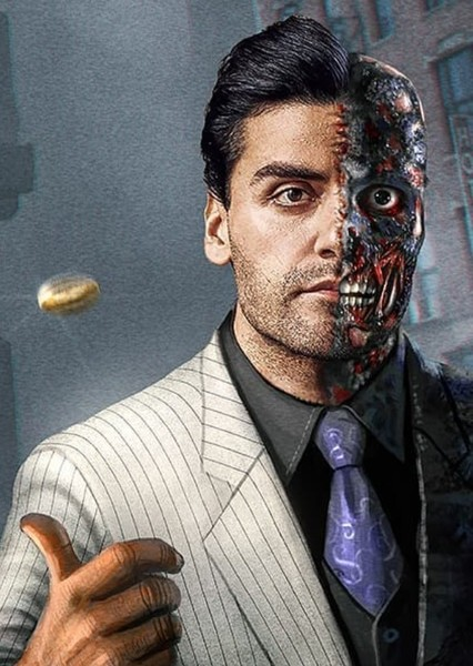 Oscar Isaac as Two-Face in Fancast Your DC Universe