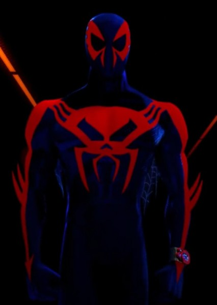 Oscar Isaac as Spider-Man 2099 in Spider-Man: Into The Spider-Verse 2