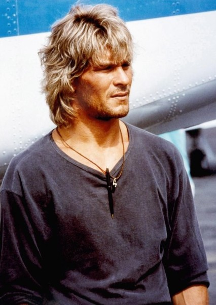 Patrick Swayze as John/Homelander in The Boys (1990s)