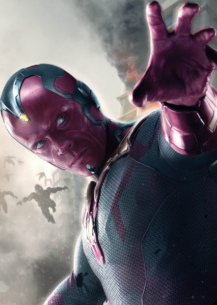 Paul Bettany as Vision in The Avengers: Earth's Mightiest Heroes