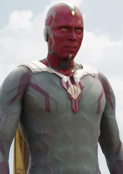 Paul Bettany as Vision in Speed