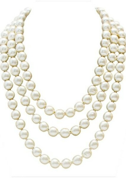 Pearl Necklaces as Best Fashion Trend in Best & Worst of the 1980s