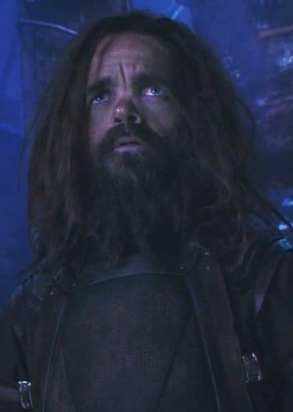 Peter Dinklage as Eitri in Thor : Realms of Asgard